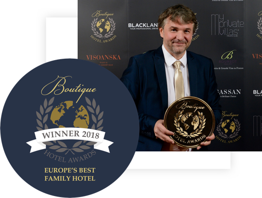Nejlepší boutique hotel v Evropě 2018